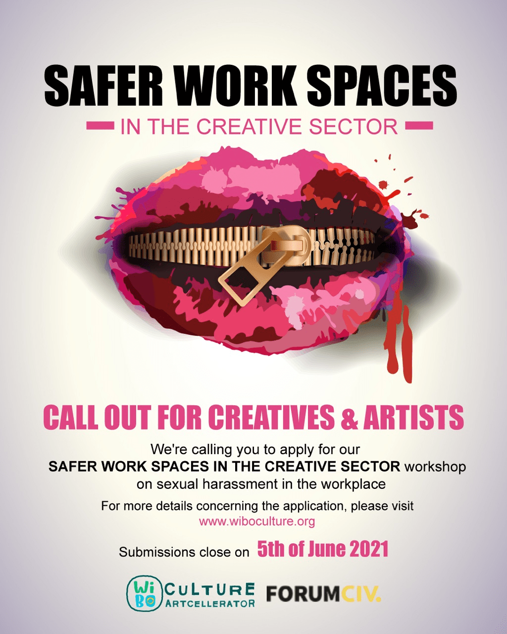 CALL OUT FOR CREATIVES AND ARTISTS